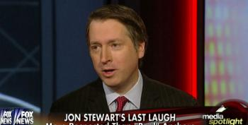 Rich Lowry Whines About Jon Stewart Being Mean To Conservatives