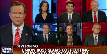 Fox Pundits Compare Public Sector Unions To Welfare Recipients