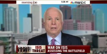 John McCain Promotes Sending 10,000 US Troops To Fight ISIS