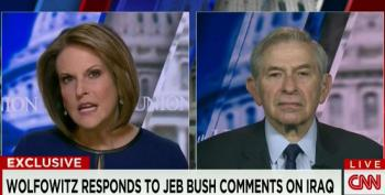Gloria Borger Asks Paul Wolfowitz What Mistakes The Bush Administration Made In Iraq