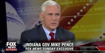 Gov. Mike Pence Defends President Obama's Patriotism