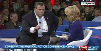 At CPAC, Chris Christie Admits GOP Is Party Of The Rich