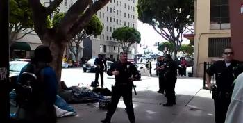 LA Cops Shoot & Kill Homeless Man 3/1/15