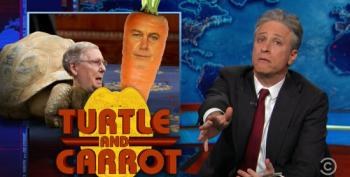 Stewart Makes A Mockery Of Boehner For Not Controlling His Caucus