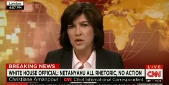 Amanpour: 'Netanyahu Gave A Strangelovian Speech'