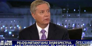 Lindsey Graham Gives Half-Assed 'Apology' For Pelosi 'Surgeries' Remark