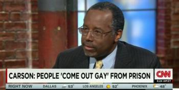 Ben Carson: Prison Sex Proves Being Gay Is A Choice
