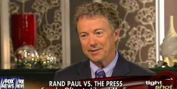 Rand Paul Is Very Happy The GOP Has Their Own Propaganda Network