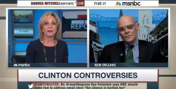 James Carville To Mrs. Greenspan: 'There's One Set Of Rules For The Clintons, Another For Everyone Else'