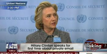 Hillary Clinton Points Out The Real Scandal: GOP Letter To Iran