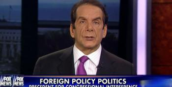 Krauthammer: GOP Should Have Sent Letter To Obama Instead Of Iranians