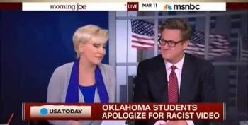 Morning Joe, Bill Kristol Blame Racist SAE Video On Rap Music