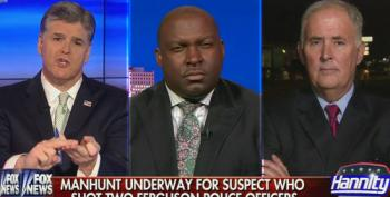 Bundy-Promoting Hannity Suddenly Concerned About 'Irresponsible Rhetoric' In Ferguson