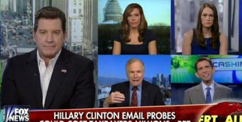 Fox Pundits Accuse Clinton, Not Witch Hunting Republicans, Of Wasting Taxpayers' Money