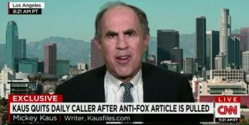 Mickey Kaus: Why Conservatives Fear To Criticize Fox News