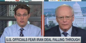 Steve Kornacki Allows Former Ambassador To Blame Obama For Turmoil In Middle East