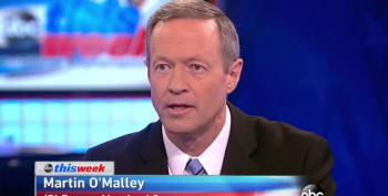 O'Malley: 'The Presidency Is Not A Crown To Be Passed Between Two Families