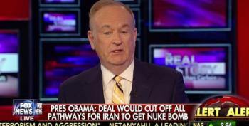 Bill O'Reilly On Iran Deal: Obama Might Be Right