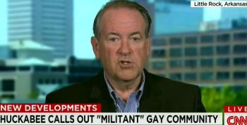 Huckabee: Corporations Put Pressure On Indiana Because 'Militant Gay Community' Put Pressure On Them
