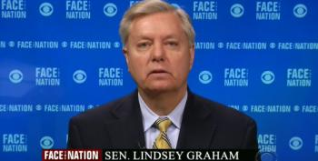 Lindsey Graham Finds Another Excuse To Call President Obama 'Weak'