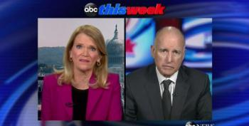Martha Raddatz Tries To Hammer Gov. Brown Over CA Water Restrictions
