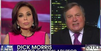Fox Brings Back Dick Morris To Predict Doom For Hillary Clinton And Democrats