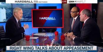 Chris Matthews Destroys Neocon's Arguments Against Iran Deal