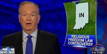 O'Reilly Compares Anti-Discrimination Protections For LGBT People To The Klan