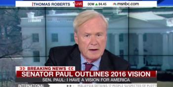 Chris Matthews Rips MSNBC For Airing 'Goddamn' Right-Wing Ad, Then Airs It Himself