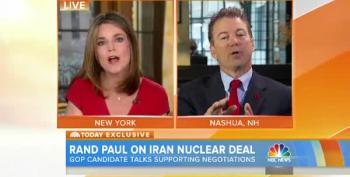 Rand Paul Gets Testy (Again) When Challenged By A Woman