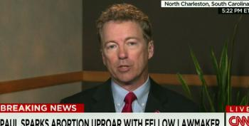Rand Paul Attempts To Turn Pro-Choice Women Into Monsters