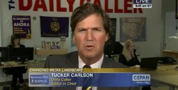 Tucker Carlson Calls Misogynistic E-Mail Flap An 'Accident'