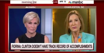 Mika Brzezinski Force-Feeds Carly Fiorina A Heaping Dose Of Truth