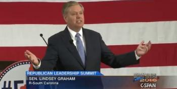 Lindsey Graham Calls Clinton Listening Tour 'Something Out Of North Korea'