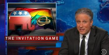 Jon Stewart On The GOP's Evolution, Or Lack Of On Gay Marriage