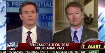 Rand Paul Calls McCain, Graham 'Lapdogs' For Obama