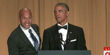 President Obama's Anger Translator Makes An Appearance At The White House Correspondents' Dinner