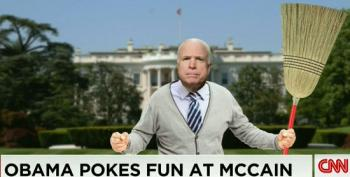 CNN's Acosta Asks McCain About 'Get Off My Lawn' Joke At WHCD