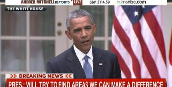 President Obama Addresses Baltimore Violence