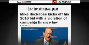 Huckabee Kicks Off 2016 Announcement By Ignoring Campaign Finance Laws