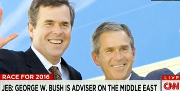 Kevin Madden On George W. Bush Advising Jeb: 'Why Would That Raise Eyebrows?'
