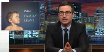 John Oliver Takes On The Issue Of Paid Family Leave For Mother's Day