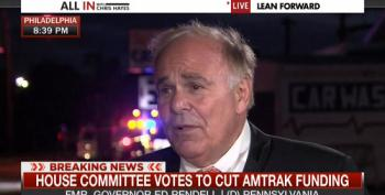 Conservadem Ed Rendell Rips GOP For Cutting Amtrak Funds