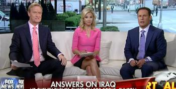 Fox Helps Liz Cheney Troll President Obama And Hillary Clinton On Iraq Troop Withdrawal