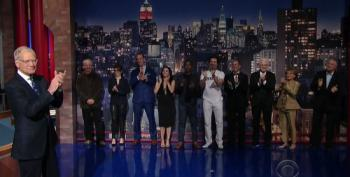 David Letterman Gets Star Studded Send Off During Final Top Ten