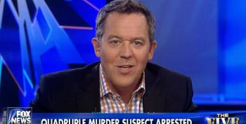Fox's Gutfeld Exploits Quadruple Murder Arrest To Smear Almost Everyone Fox Hates