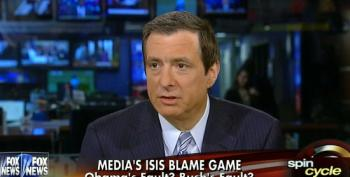 Fox's Kurtz Paints Debate On Iraq Invasion As Partisan Food Fight Between Networks