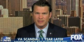 Fox's Pete Hegseth Uses Memorial Day To Push For Privatizing The VA