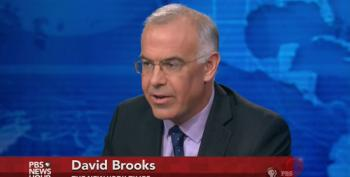 David Brooks Falls In Love With Non-Existent 'Working Class' Republican 'Moderates'