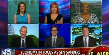 Fox Yappers Throw Hissy Fit Over Sanders' 90 Percent Tax Rate Proposal